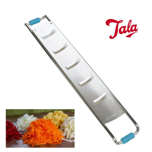 Fine Slicer TALA Slim Veg Peeler Cheese Grate Vegetable Fruit Non Slip Stainless