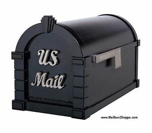 Gaines-Keystone-Signature-Mailbox-Aluminum-Mail-Box-12-Color-Accent-Combos