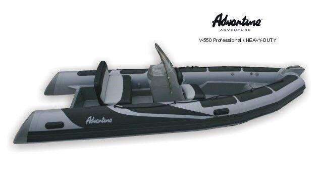 Adventure Rib, V-500, med Yamaha 50 HK påhængsm...