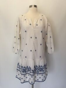 cc901fcfb53 New Madewell Jacquard Long Sleeve Tunic Dress Sz XXS G6486 $145 Sold ...