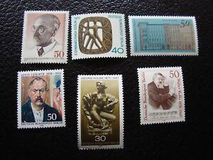 Germany-Berlin-Stamp-Yvert-Tellier-N-456-57-472-73-509-523-N-MNH-L1