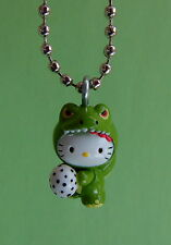 Sanrio Hello Kitty Godzilla Necklace - Charm Pendant- Dinosaur with Egg