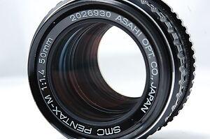 PENTAX SMC PENTAX-M 50mm F1.4 K Mount Lens SN2026930
