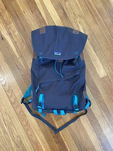 Patagonia Hiking Backpack Black And Teal