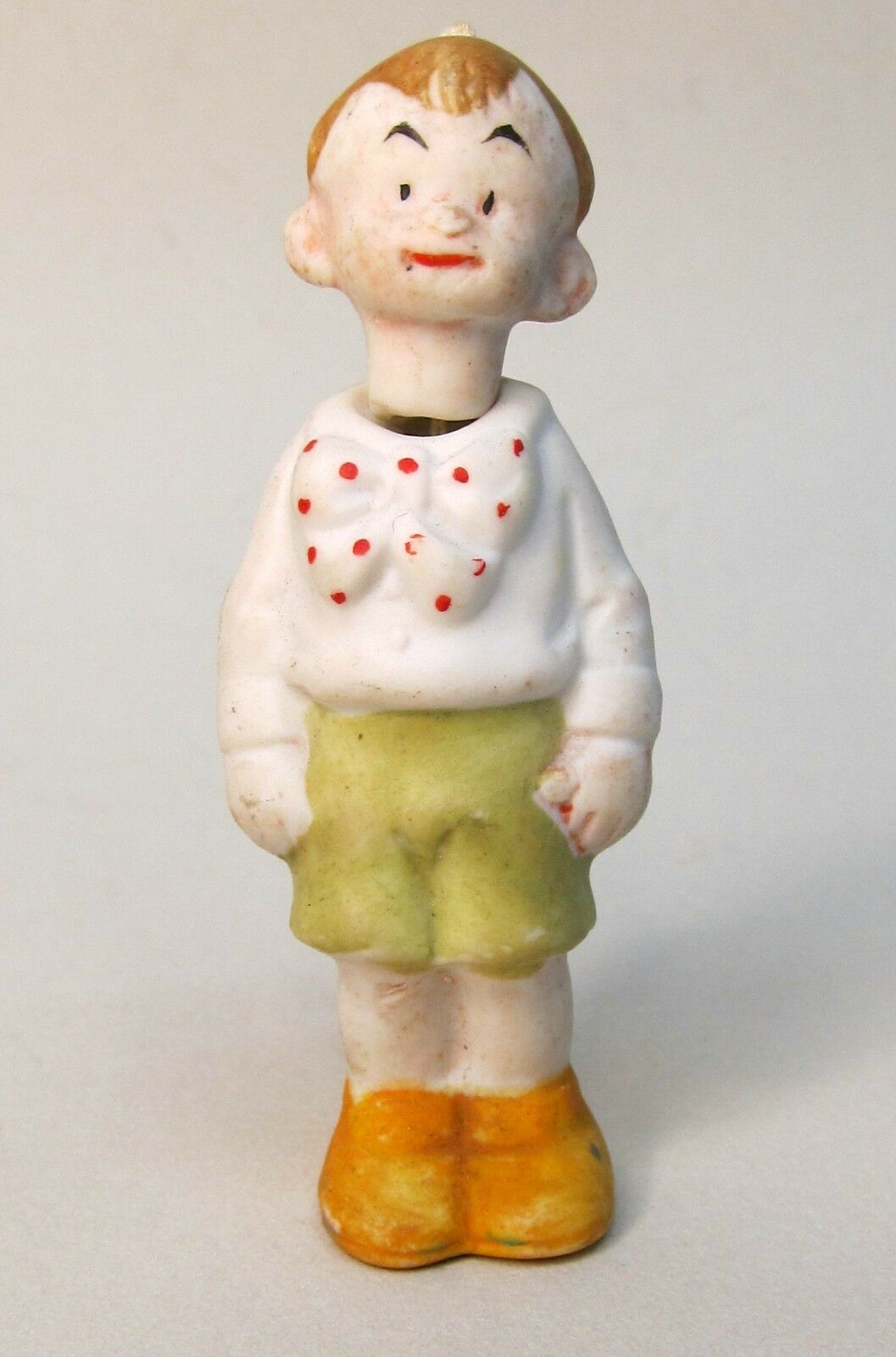 Sidney Smith's CHESTER GUMP c. 1930 German bisque comic character nodder