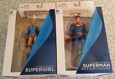 Teen Titans New 52 DC Comics SUPERGIRL /& SUPERMAN Figures Collectibles Lot of 2