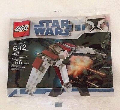 Lego Star Wars V-19 Torrent Brand New in Sealed Polybag 8031