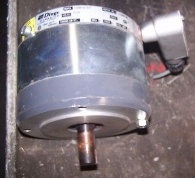 DINGS DYNAMICS 6-62006-551-R1FF MAGNETIC DISC BRAKE 230 VAC 1Ø TORQUE LB FT 6