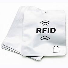 Credit Card Passport Protector RFID Blocking Case Sleeve Shield Holder Secure ca