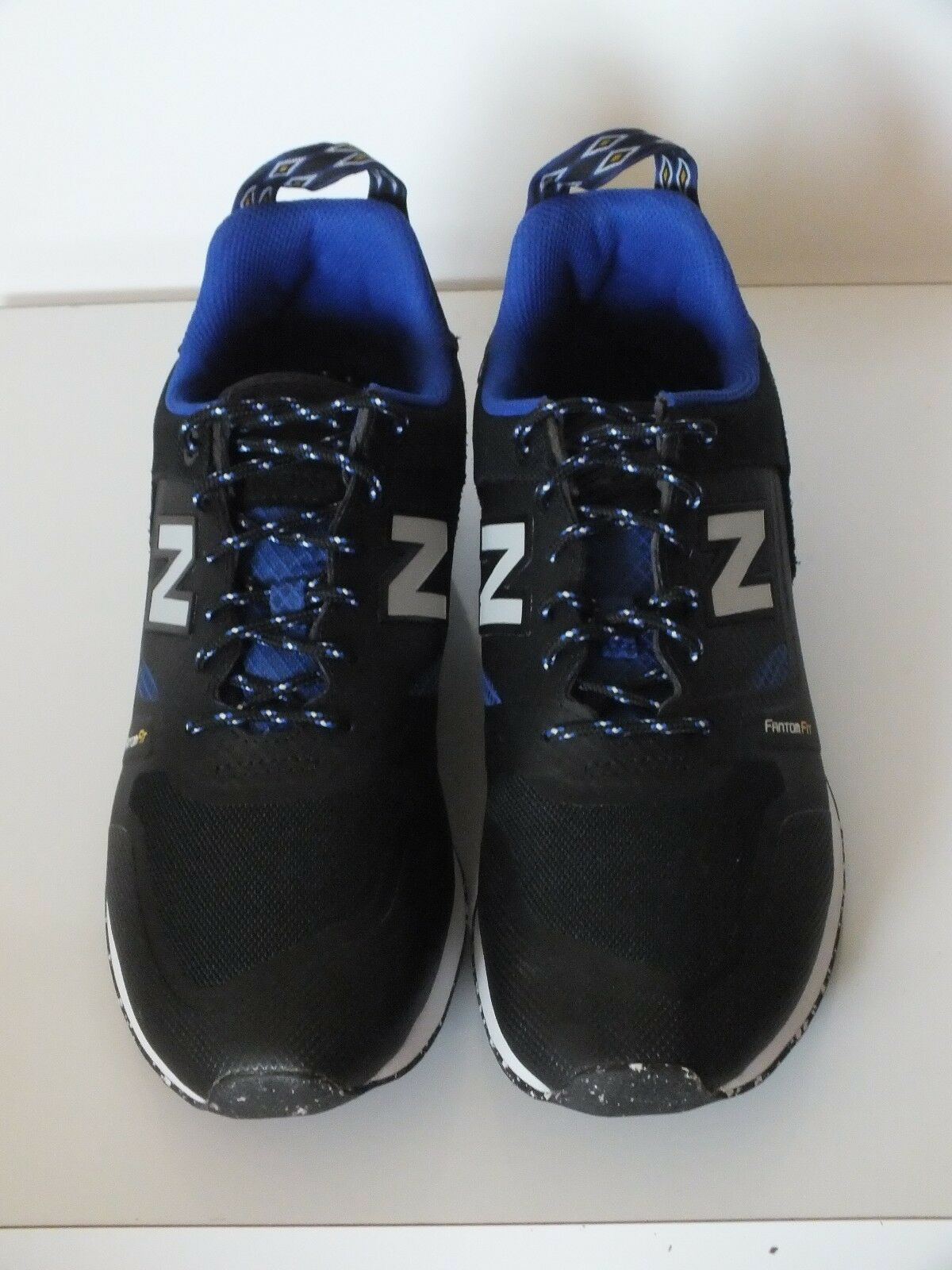 NEW NB MEN TRAILBUSTER RE-ENGINEERED TBTFOB (BLACK   UV blueE) Size 9.5