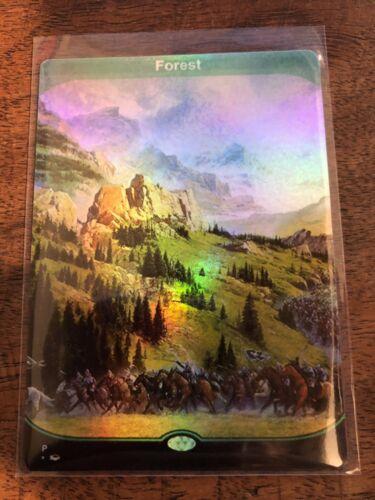 1 X Full Art Forest Benutzerdefinierte Basic Land Foil MTG Card Altered Orica