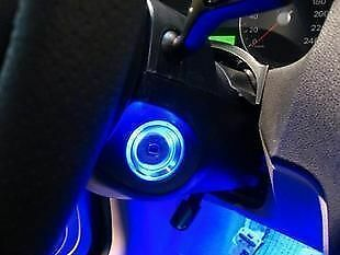 FIT FOR FORD FOCUS ILLUMINATING MOD LED IGNITION BARREL RING ILLUMINATED LIGHT 1