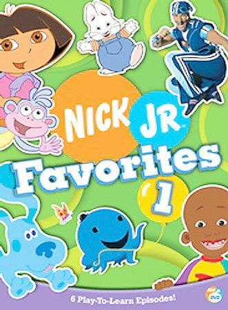 Nick Jr Favorites Vol 1 Dvd 2005 For Sale Online Ebay