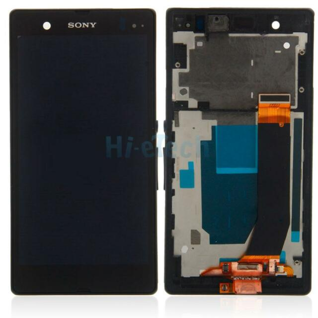 OEM for Sony Xperia Z LT36i L36H C6603 C6602 LCD Touch Digitizer Screen + Frame