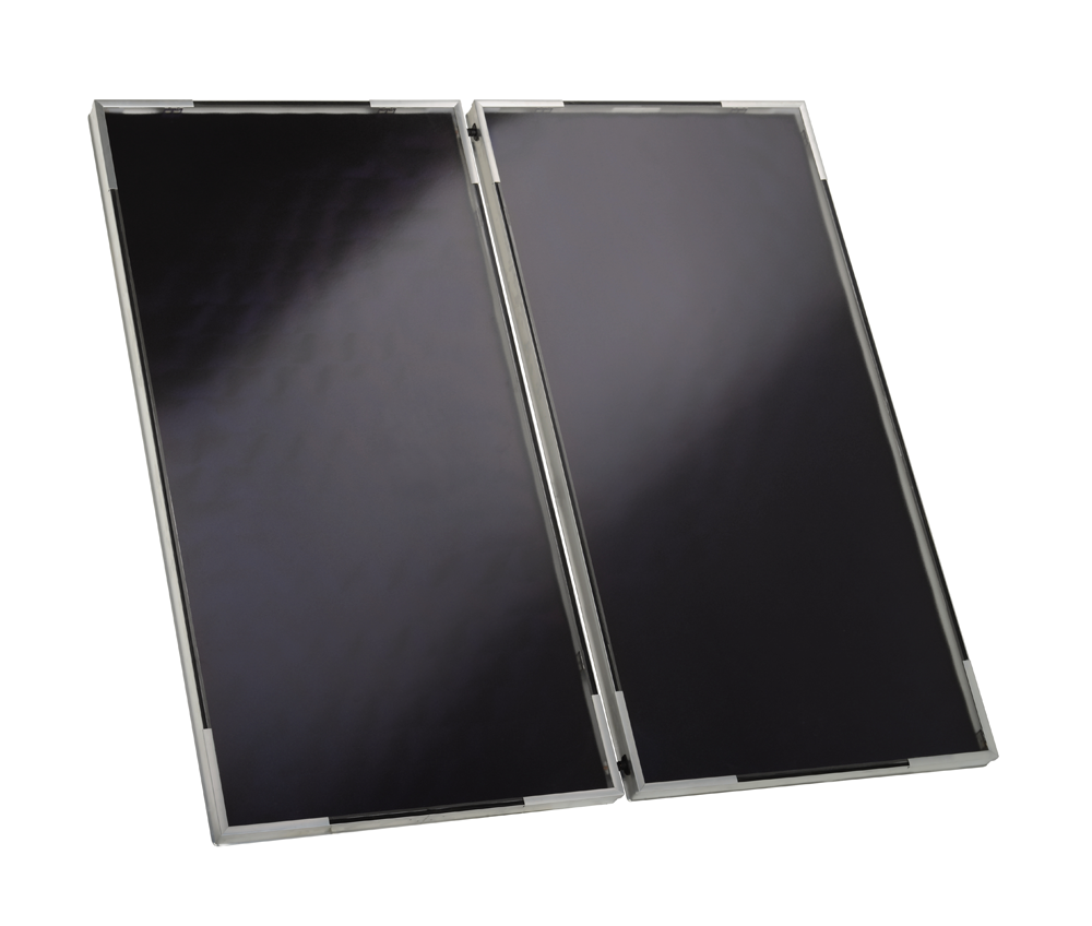 Viessmann Solaranlage 6 Kollektoren SV2F Heizungsunterstützung 140-E 950 Liter