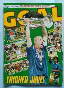 RIVISTA-GOAL-N-25-DEL-1996-VITTORIA-COPPA-DEI-CAMPIONI-DEL-PIERO-JUVE-JUVENTUS