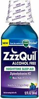 5 Pack Zzzquil Nighttime Sleep-aid Alcohol Free 12 Oz Each on sale