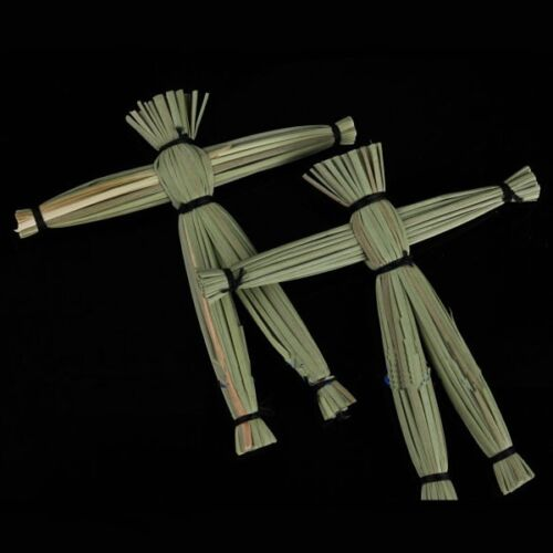 Close Up Magical Voodoo Doll Scary Spooky Gimmick Straw Doll Magic Trick
