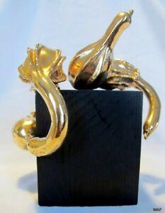 Cast-Bronze-Abstract-034-You-039-re-Gonna-Make-It-034-Gourd-Sculpture-Modern-Art-Foundry