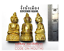 Amulet Governor Ngang Arjarn O Thai Magic Power Destiny Fortune Prayer Luck Love