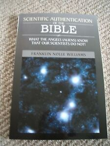 Scientific-Authentication-of-The-Bible-Franklin-Nolle-Williams-Brand-New