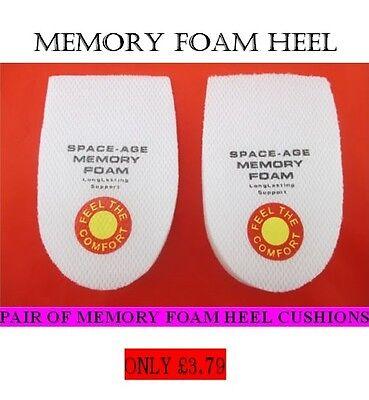 Zapatos Plantillas Cojines Plantillas Confort Almohadilla talón de espuma de memoria de Zapatos de arranque térmica