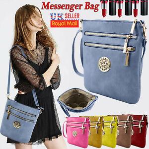 b8d0e6bc9b540 Details about Ladies women Messenger Bag Cross Body Shoulder Over Bags  Detachable New Handbags