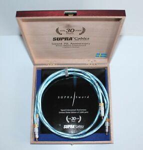 Supra-Cables-Sword-ISL-Anniversary-RCA-Cinchkabel-Audiokabel-1m