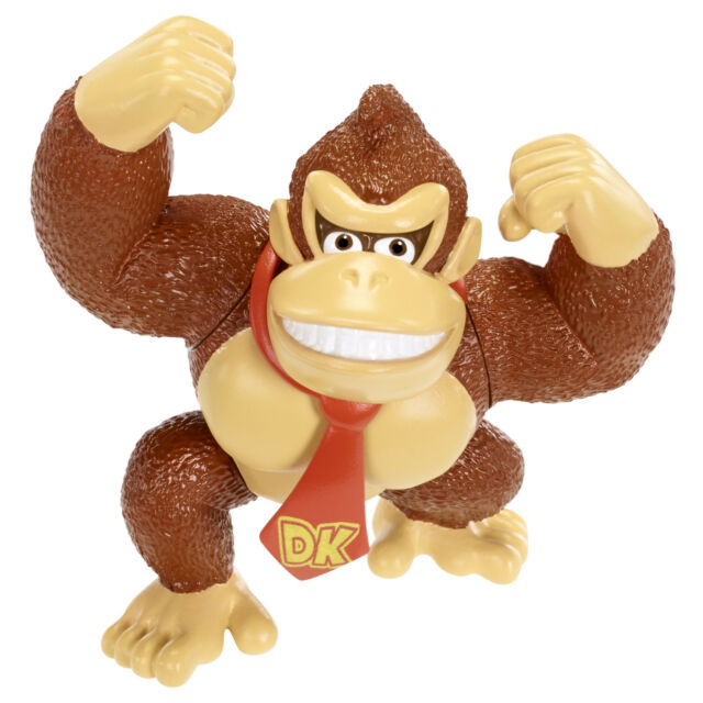 "Nintendo Super Mario Bros 2.5"" Action Figure Donkey Kong-Cute Doll, Quality"