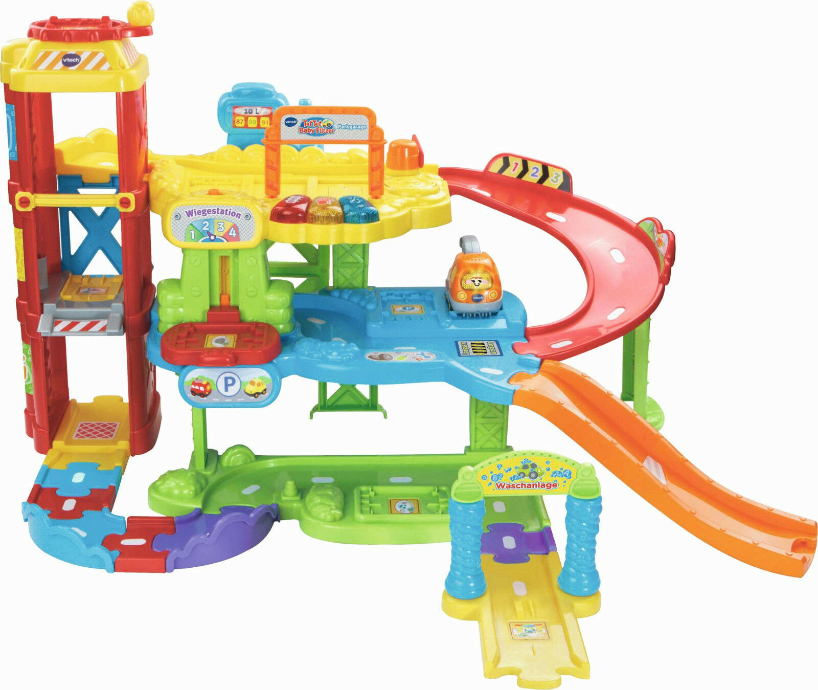Vtech 180004 - Garage Parcheggio, Tut Tut Baby Flitzer, Nuovo / Conf. Orig.