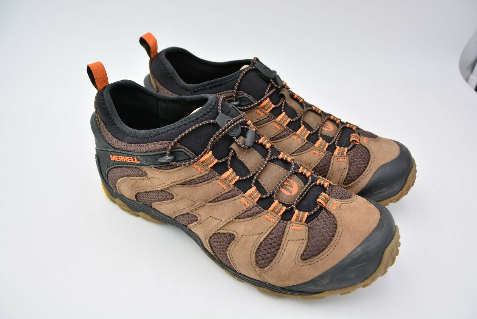 Merrell Para Hombre Zapato  Senderismo Chameleon 7 Stretch Dark Earth tamaño nos 13 UE 48 uesd  colores increíbles