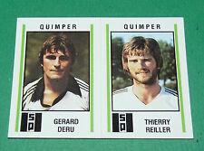 N°545 DERU - REILLER SQ QUIMPER D2 PANINI FOOTBALL 81 1980-1981