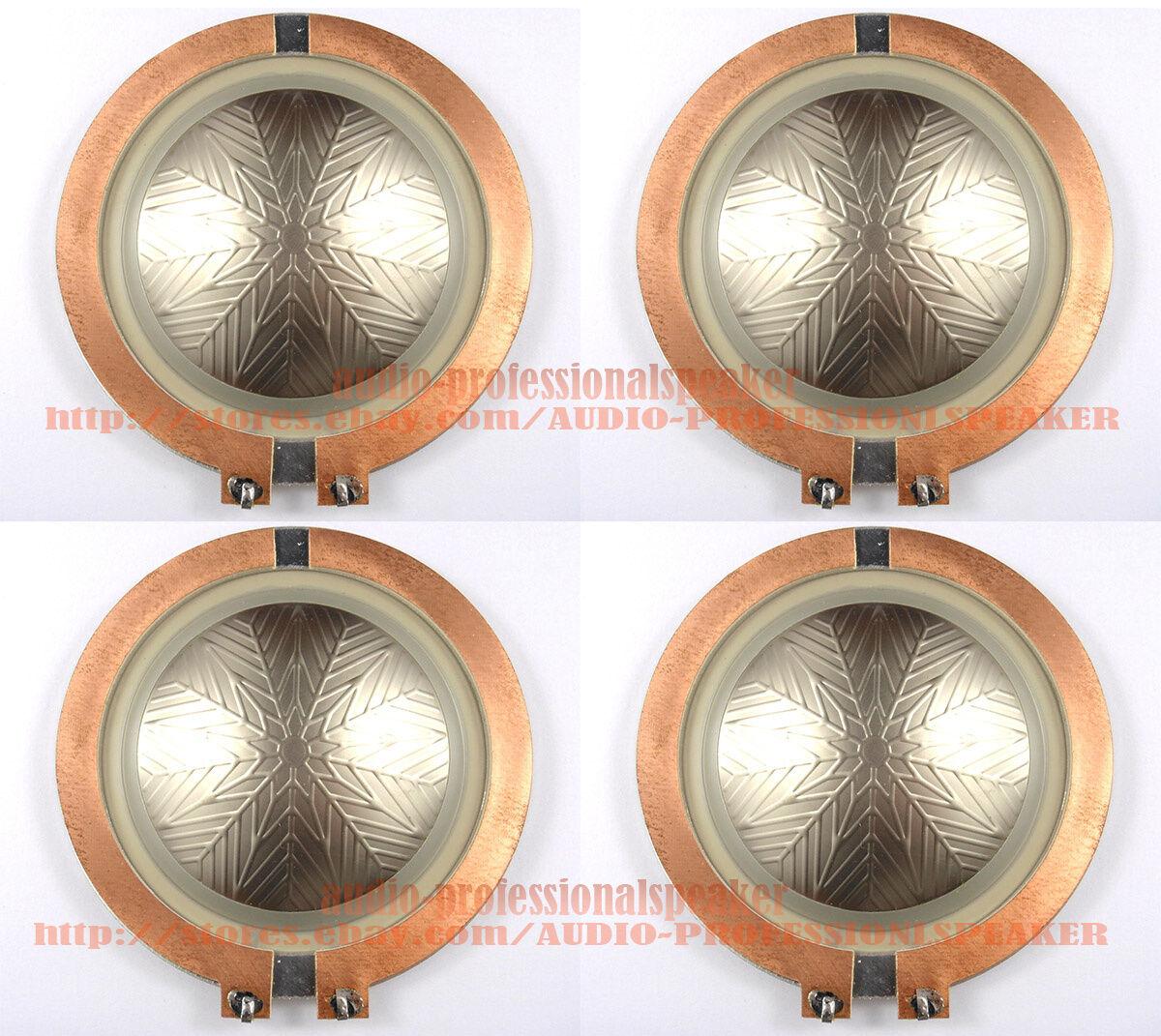 4pcs Diaphragm For JBL Selenium D3300Ti 16 Ohm RPD3300Ti, D3305Ti & D3500Ti
