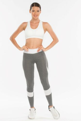 Details about  /Padded Racer Back Light Impact Seamless Sports Bra Active Wear//Yoga-Gym-Workout