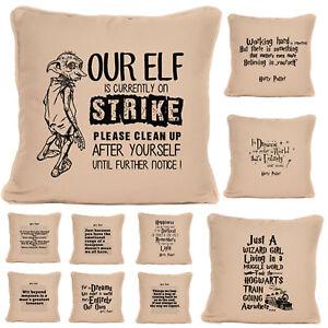 Gift For Harry Potter Fan Boy Or Girl Large Cushion Pillow Bedroom Decor Ebay