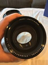 MINT | RARE : ISCORAMA 54 1.5x MC Anamorphic Lens | widescreen filmmaking