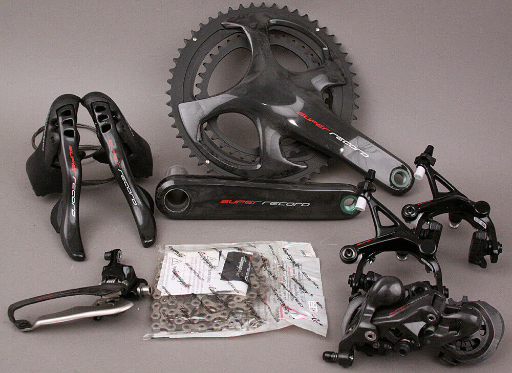 2018-19 Campagnolo Super Record 12 Speed Group Groupset 6 Pc 170 39 53 Crankset