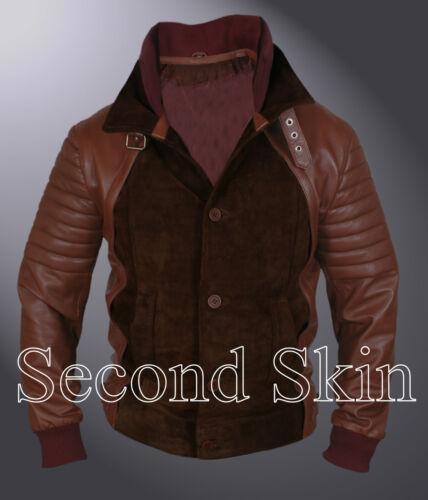 Horns Daniel Radcliffe Igantius Ig Perrish Jacket Suede and Nappa Leather Jacket