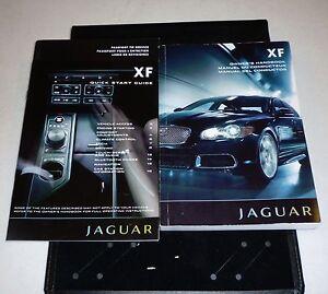 2010 jaguar xf owners manual set 10 type guide handbook w case ebay rh ebay com jaguar xf owners manual 2014 jaguar xf owners manual 2014