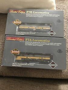 Proto-2000-F7a-And-F7b-Locomotive-H-O-Scale-DCC-And-Sound-Train-Mint