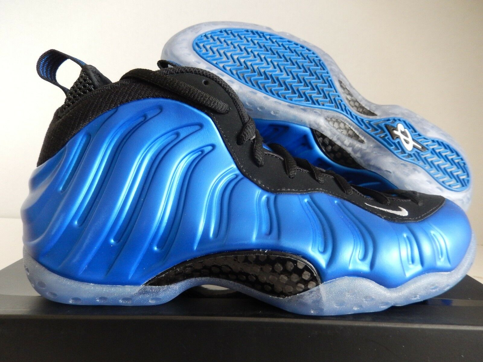NIKE AIR FOAMPOSITE ONE XX 20TH ANNIVERSARY NEON ROYAL Bleu SZ 8 [895320-500]