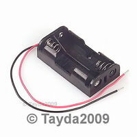 2 PCS 2 x AA Battery Holder - FREE SHIPPING - HIGH QUALITY