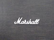 Marshall White Script Logo 9 (150mm)