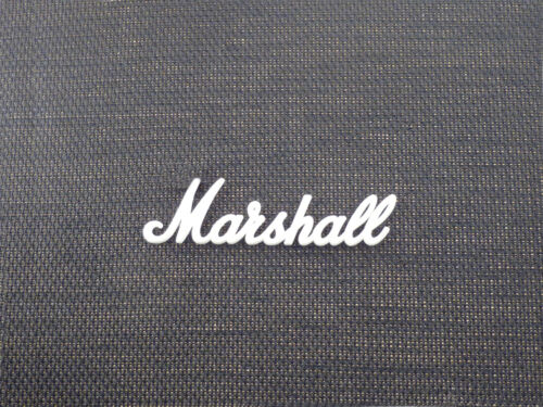 150mm REQUIRES MODEL AND SERIAL NO. FOR PURCHASE Marshall White Script Logo