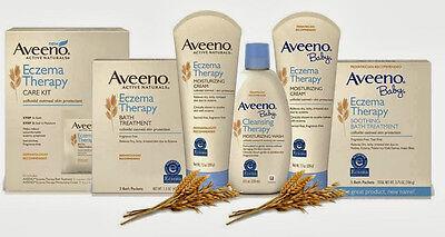 Aveeno Baby Eczema Therapy Moisturizing Cream 140g / 207g