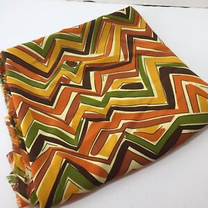 1-5-Yards-Autumn-Colors-Geometric-Silky-Blouse-Shirt-Dress-Fabric-44-034-Polyester