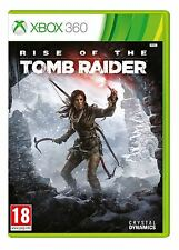 Rise of the Tomb Raider Xbox 360 Game New Sealed Official PAL UK Seller Pegi 18