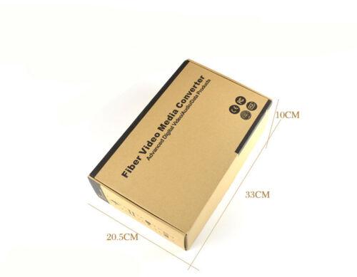 16 Channel digital Video fiber media converter Transmitter /& Receiver 1 Pair