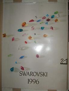 Calendario Avvento Swarovski.Dettagli Su Calendario Swarovski 1996 Introvabile Photo Calendar Art Limited