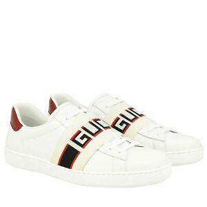 Gucci sneakers white Ace Sega shoes